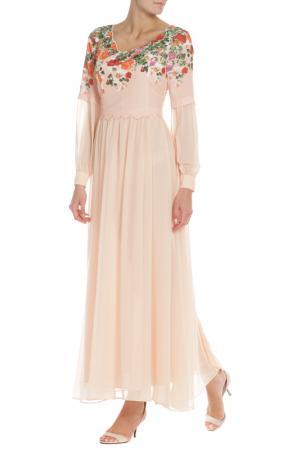 Платье Evita. Цвет: ecru, кремовый