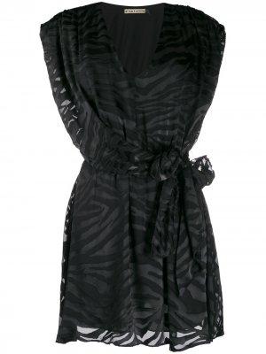 Платье Essie Alice+Olivia. Цвет: черный