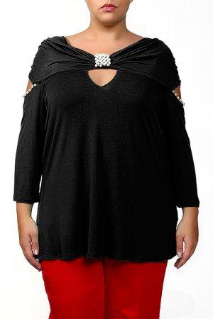 Блуза Giani Forte. Цвет: черный