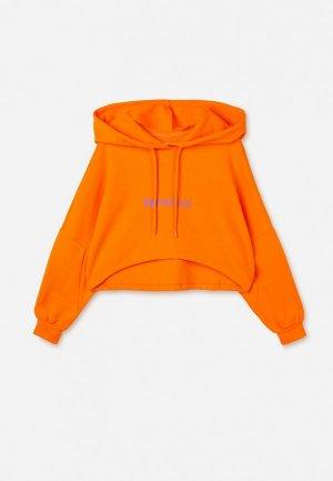 Худи Gloria Jeans. Цвет: оранжевый