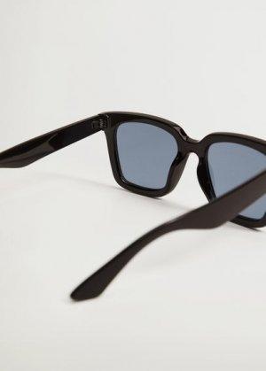 Солнцезащитные очки оверсайз - Mafalda Mango. Цвет: черный