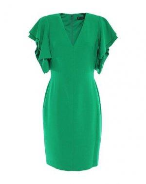 Короткое платье BLACK HALO. Цвет: зеленый