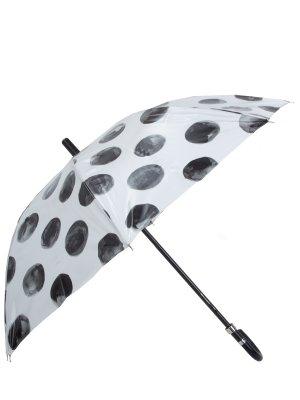 Зонт-трость с принтом DOLCE & GABBANA. Цвет: разноцветный