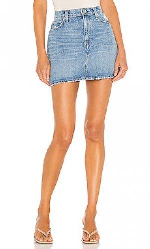 Юбка мини viper Hudson Jeans. Цвет: none