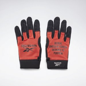 Перчатки United By Fitness Athlete Training Reebok. Цвет: dynamic red