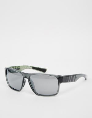 Солнцезащитные очки Mojo Nike. Цвет: серый