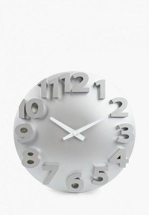 Часы настенные Русские подарки. Цвет: серый