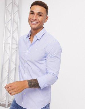 Рубашка в ковбойском стиле с длинными рукавами Calvin Klein-Темно-синий Klein Jeans