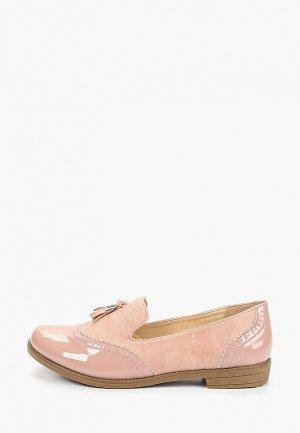 Лоферы VH. Цвет: розовый
