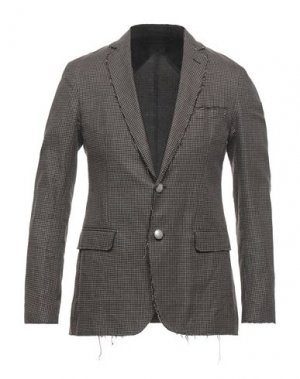 Пиджак MESSAGERIE. Цвет: темно-коричневый