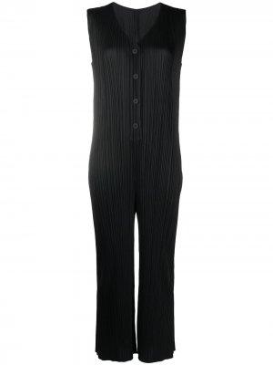 Плиссированное платье Pleats Please Issey Miyake. Цвет: черный