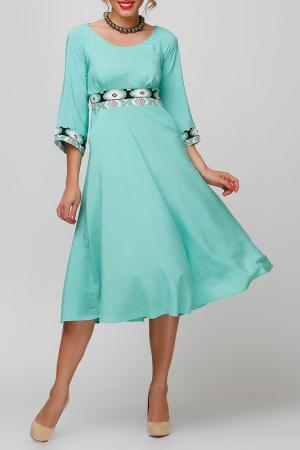 Платье FIFI LAKRES. Цвет: зеленый