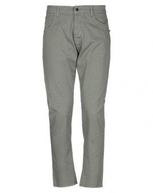 Повседневные брюки CASTELBAJAC. Цвет: зеленый-милитари