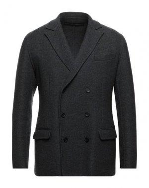 Пиджак ERMANNO SCERVINO. Цвет: стальной серый
