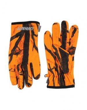 Перчатки CARHARTT. Цвет: оранжевый