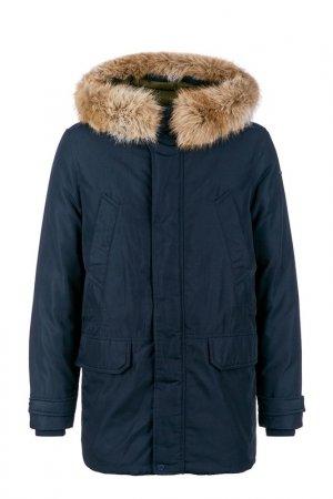 Куртка Geox. Цвет: синий