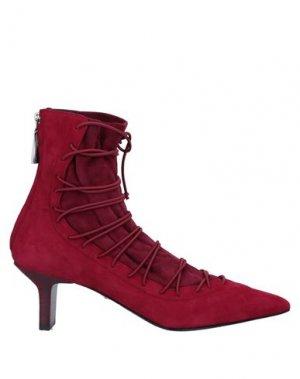 Полусапоги и высокие ботинки GIORGIO FABIANI. Цвет: красно-коричневый