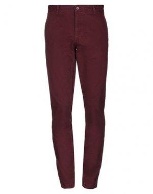 Повседневные брюки NAPAPIJRI. Цвет: красно-коричневый