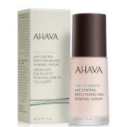 Ночная восстанавливающая и выравнивающая тон кожи антивозрастная сыворотка Age Control Brightening and Renewal Serum 30 мл AHAVA