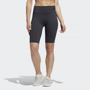 Короткие леггинсы x Universal Standard adidas. Цвет: черный