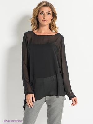 Блузка Bandolera. Цвет: черный