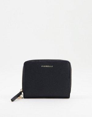 Черная сумка-кошелек Nora-Черный цвет Fiorelli
