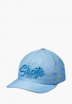 Бейсболка Broel Din. Цвет: голубой