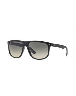 Солнечные очки RAY-BAN. Цвет: серебристый