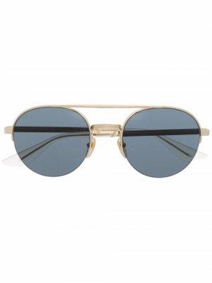 Солнцезащитные очки-авиаторы Gucci Eyewear. Цвет: золотистый