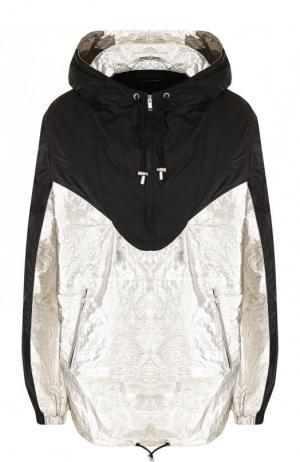 Ветровка свободного кроя с капюшоном и карманами Isabel Marant. Цвет: черный