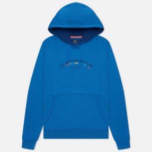 Мужская толстовка London Color Logo Hoodie Hackett. Цвет: голубой