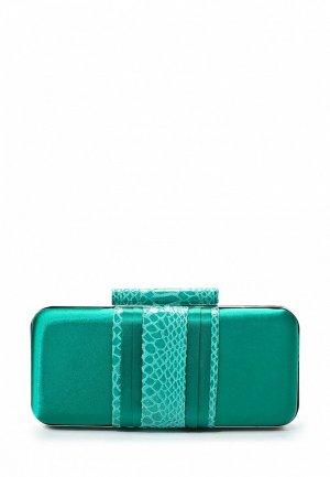 Клатч Drap DR001BWJW983. Цвет: зеленый