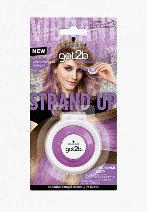 Краска для волос Got2B Королевский пурпур 3,5г. Цвет: фиолетовый