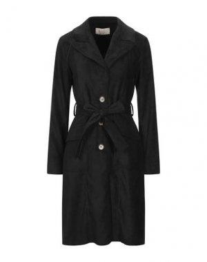 Легкое пальто KAOS JEANS. Цвет: черный