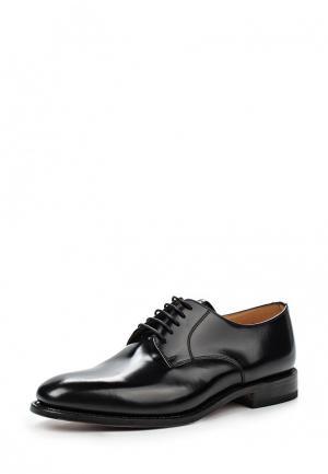 Туфли Loake LO026AMGPJ55. Цвет: черный