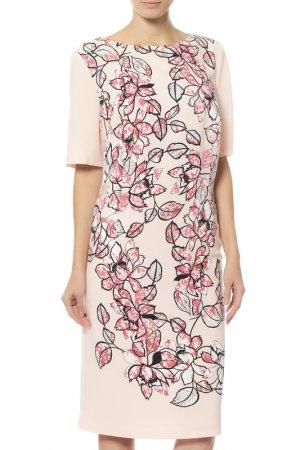Платье Basler. Цвет: бордовый