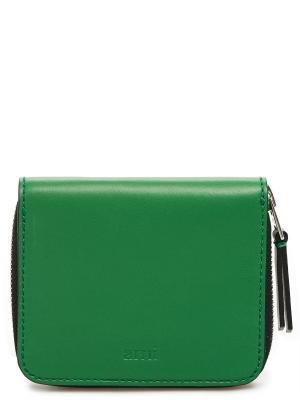 Бумажник AMI. Цвет: зеленый