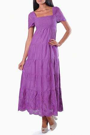 Платье Little Buddha. Цвет: фиолетовый