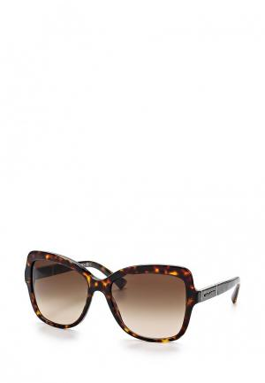 Очки солнцезащитные Dolce&Gabbana 0DG4244 502/13. Цвет: коричневый