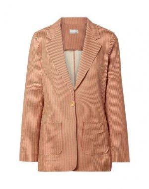 Пиджак ANNA SUI. Цвет: коричневый