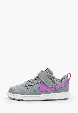 Кеды Nike COURT BOROUGH LOW 2 (TDV). Цвет: серый