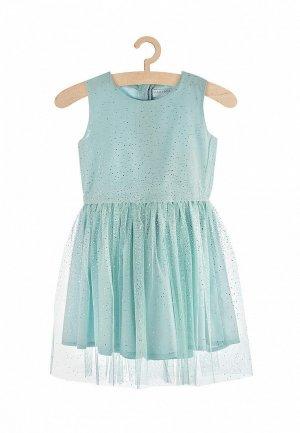 Платье 5.10.15. Цвет: бирюзовый