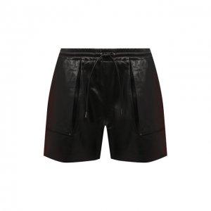 Кожаные шорты Tom Ford. Цвет: чёрный