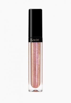 Блеск для губ Ga-De CRYSTAL LIGHTS № 800. Цвет: розовый