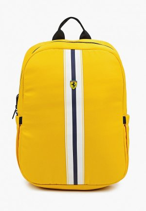 Рюкзак Ferrari для ноутбуков 15, On-track PISTA Backpack with USB-connector Yellow. Цвет: желтый