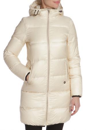 Пуховик CNC Costume National C'N'C. Цвет: белый