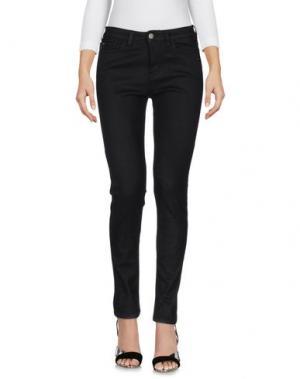 Джинсовые брюки LOVE MOSCHINO. Цвет: черный