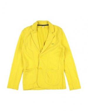 Пиджак SUN 68. Цвет: желтый