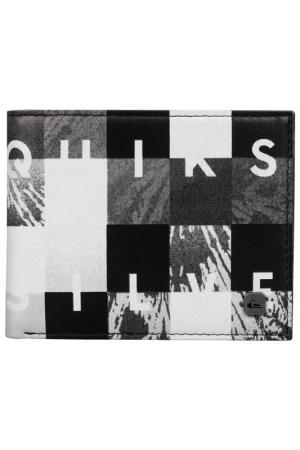 Бумажник Quiksilver. Цвет: серый