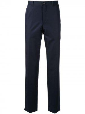 Классические брюки Kent & Curwen. Цвет: синий